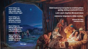 Karácsonyi üdvözlet Lukin László AMI