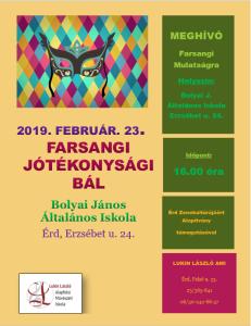 Farsang plakát