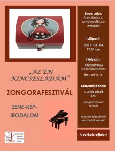 Zongora fesztivál kincsesláda