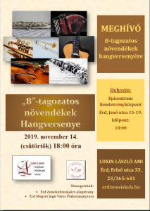 B-s koncert plakát