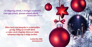Karácsonyi üdvözlet 2019