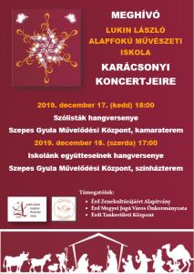 Karácsonyi hgv plakát 2019